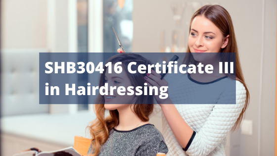 SHB30416 Certificate III in Hairdressing International icon